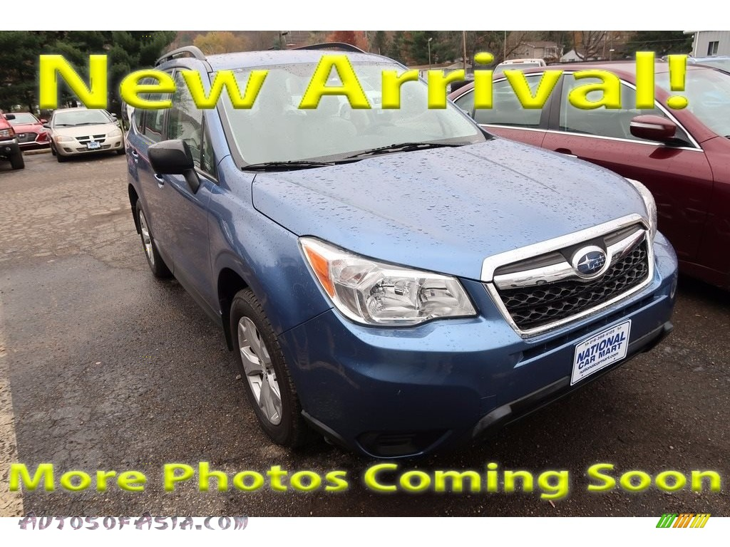 2015 Forester 2.5i - Quartz Blue Pearl / Gray photo #1