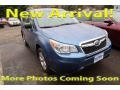 Subaru Forester 2.5i Quartz Blue Pearl photo #1