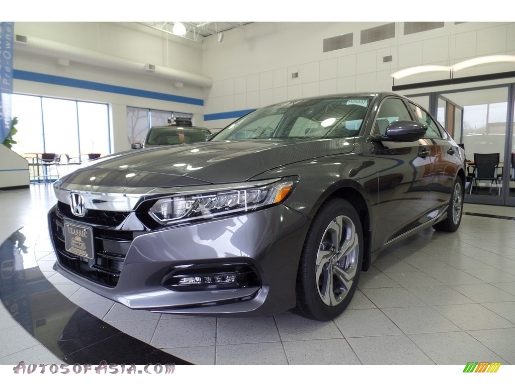 Modern Steel Metallic / Gray Honda Accord EX-L Sedan