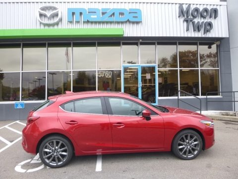 Soul Red Metallic 2018 Mazda MAZDA3 Grand Touring 5 Door