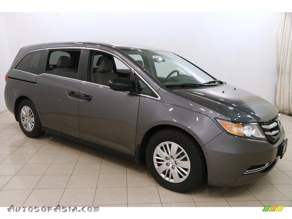 2014 Odyssey LX - Modern Steel Metallic / Gray photo #1