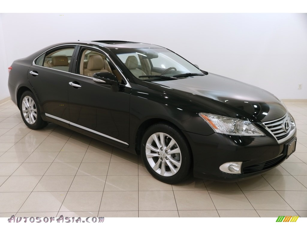 2012 ES 350 - Obsidian Black / Parchment photo #1