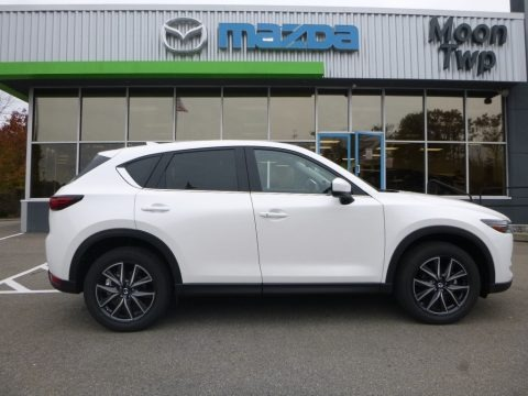 Crystal White Pearl 2017 Mazda CX-5 Grand Touring AWD