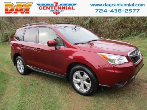Venetian Red Pearl 2015 Subaru Forester 2.5i Limited