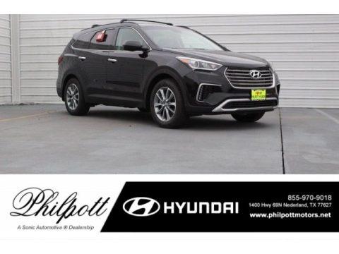 Becketts Black 2018 Hyundai Santa Fe SE