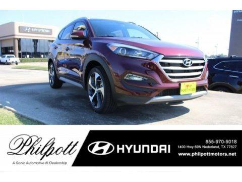 Ruby Wine 2017 Hyundai Tucson Sport