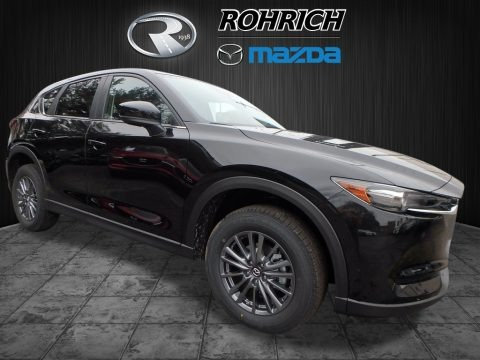 Jet Black Mica 2017 Mazda CX-5 Touring AWD