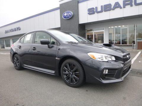 Dark Gray Metallic 2018 Subaru WRX