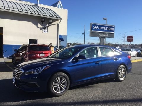 Nouveau Blue 2016 Hyundai Sonata SE