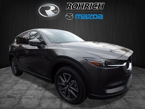 Meteor Gray Mica 2017 Mazda CX-5 Grand Touring AWD