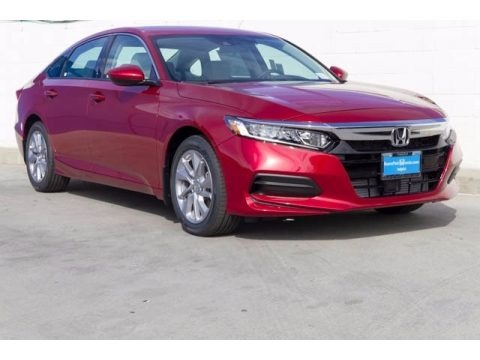 Radiant Red Metallic 2018 Honda Accord LX Sedan