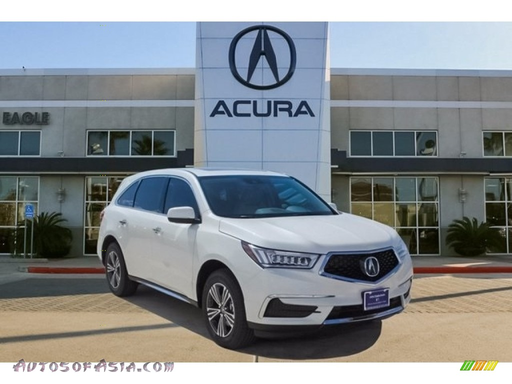 2018 MDX  - White Diamond Pearl / Parchment photo #1