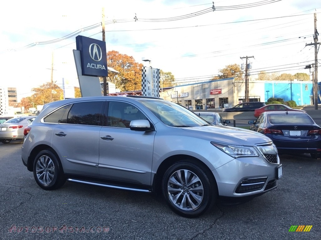 2015 MDX SH-AWD Technology - Silver Moon / Graystone photo #1