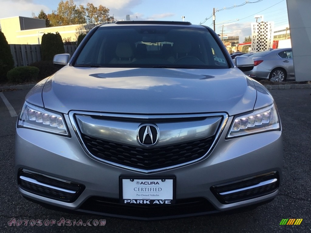 2015 MDX SH-AWD Technology - Silver Moon / Graystone photo #8