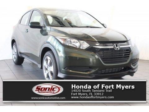 Forest Mist Metallic 2018 Honda HR-V LX