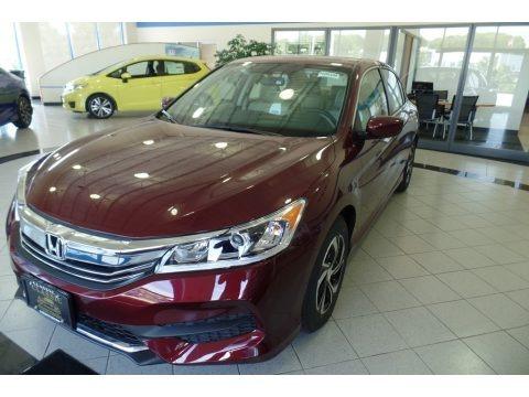 Basque Red Pearl II 2017 Honda Accord LX Sedan