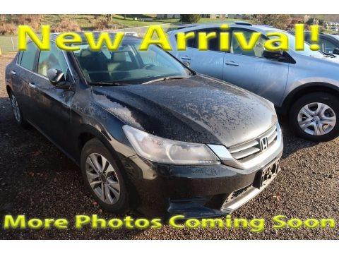 Crystal Black Pearl 2015 Honda Accord LX Sedan