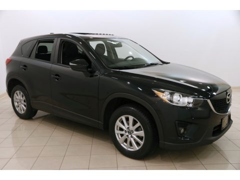 Jet Black Mica 2015 Mazda CX-5 Touring