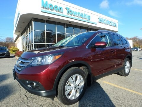 Basque Red Pearl II 2014 Honda CR-V EX-L AWD