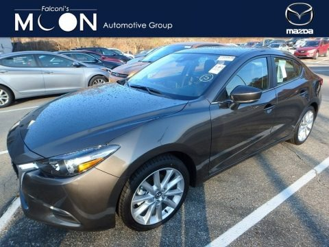 Jet Black Mica 2017 Mazda MAZDA3 Touring 4 Door