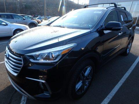 Becketts Black 2017 Hyundai Santa Fe Ultimate AWD