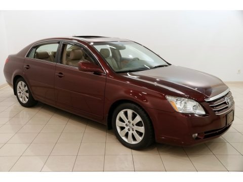 Cassis Red Pearl 2007 Toyota Avalon Touring
