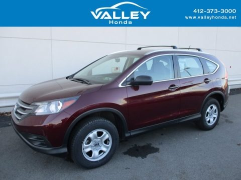Basque Red Pearl II 2014 Honda CR-V LX AWD