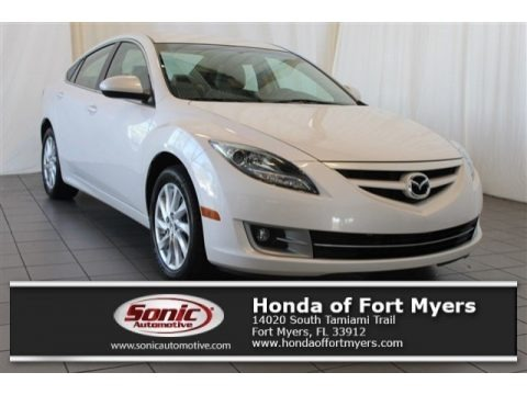 White Platinum Pearl 2012 Mazda MAZDA6 i Touring Sedan