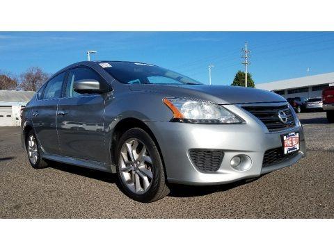 Magnetic Gray 2014 Nissan Sentra SR