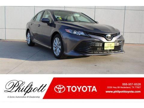 Predawn Gray Mica 2018 Toyota Camry LE