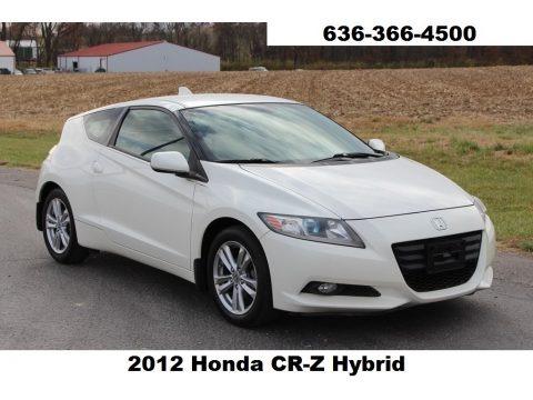 Premium White Pearl 2012 Honda CR-Z EX Sport Hybrid