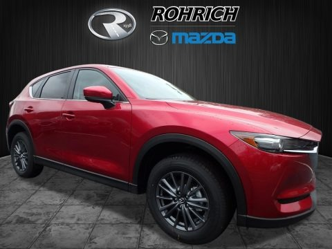 Soul Red Metallic 2017 Mazda CX-5 Touring AWD