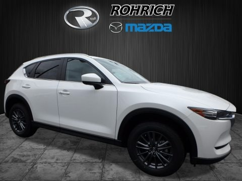 Crystal White Pearl 2017 Mazda CX-5 Touring AWD