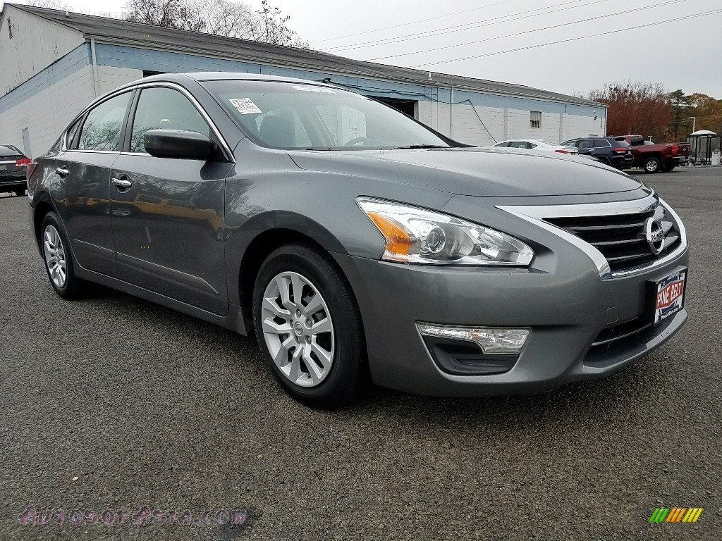 2015 Altima 2.5 S - Gun Metallic / Charcoal photo #1