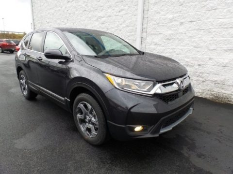 Gunmetal Metallic 2018 Honda CR-V EX AWD