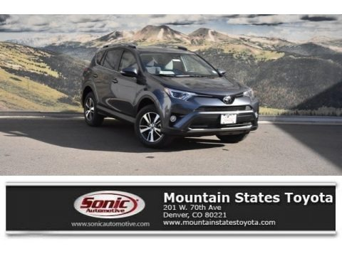 Magnetic Gray Metallic 2018 Toyota RAV4 XLE AWD