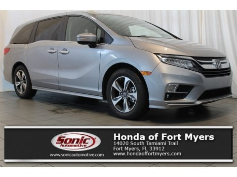 Lunar Silver Metallic 2018 Honda Odyssey Touring