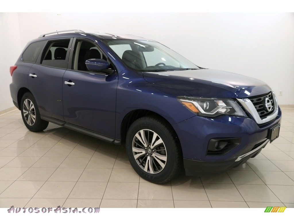 2017 Pathfinder SV 4x4 - Caspian Blue / Charcoal photo #1