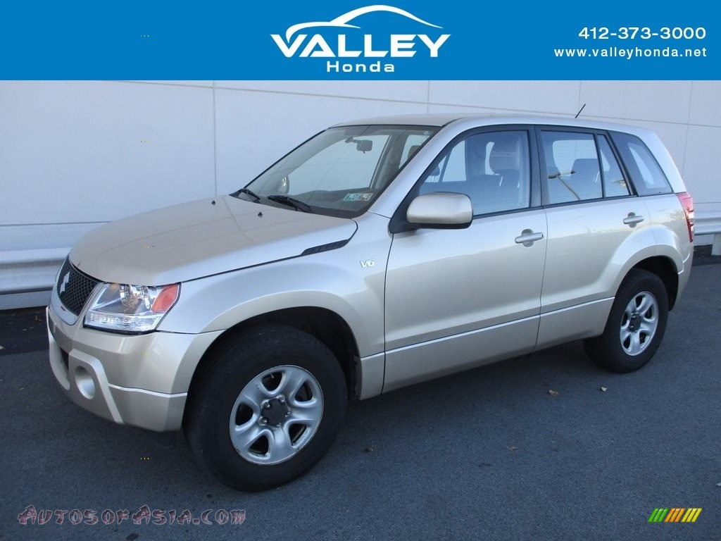 2008 Grand Vitara 4x4 - Sandstorm Metallic / Black photo #1