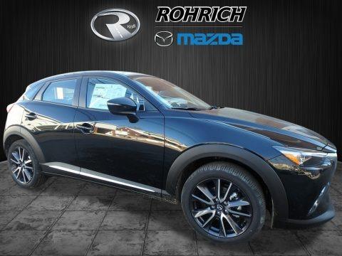 Jet Black Mica 2018 Mazda CX-3 Grand Touring AWD