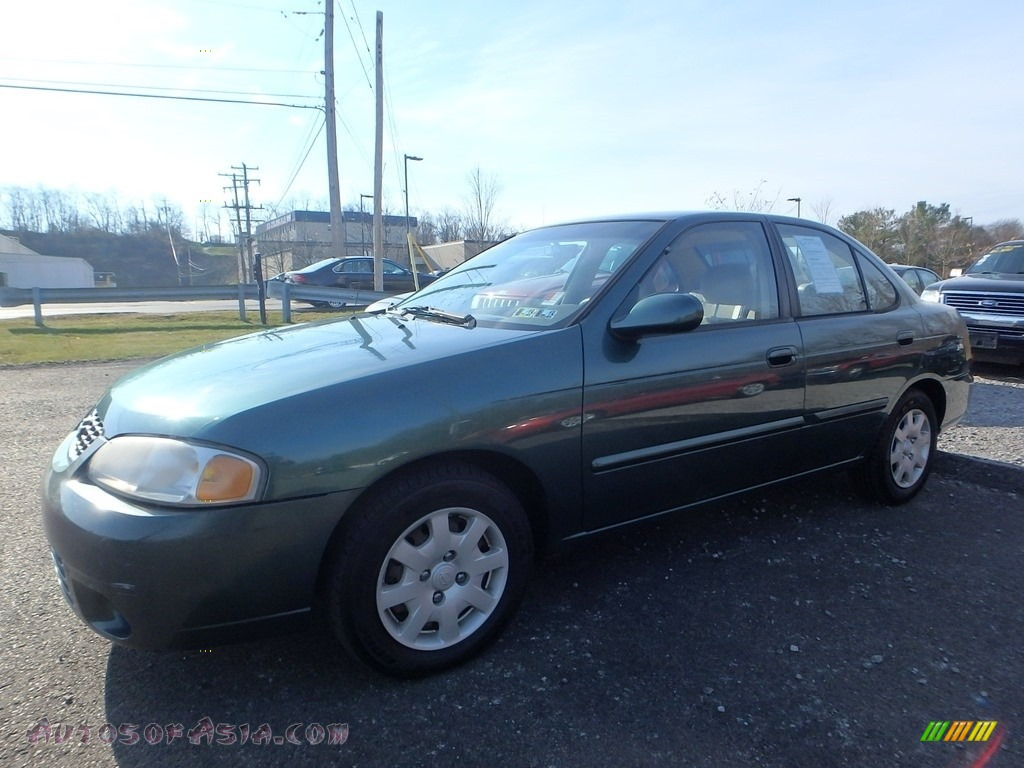 2000 Sentra GXE - Jaded Pearl / Stone photo #1
