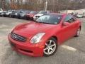 Infiniti G 35 Coupe Laser Red photo #1