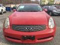 Infiniti G 35 Coupe Laser Red photo #8