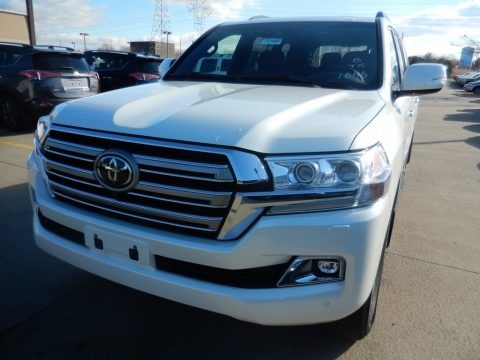 Blizzard White Pearl 2018 Toyota Land Cruiser 4WD