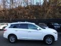 Infiniti QX60 3.5 AWD Moonlight White photo #2