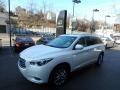 Infiniti QX60 3.5 AWD Moonlight White photo #3