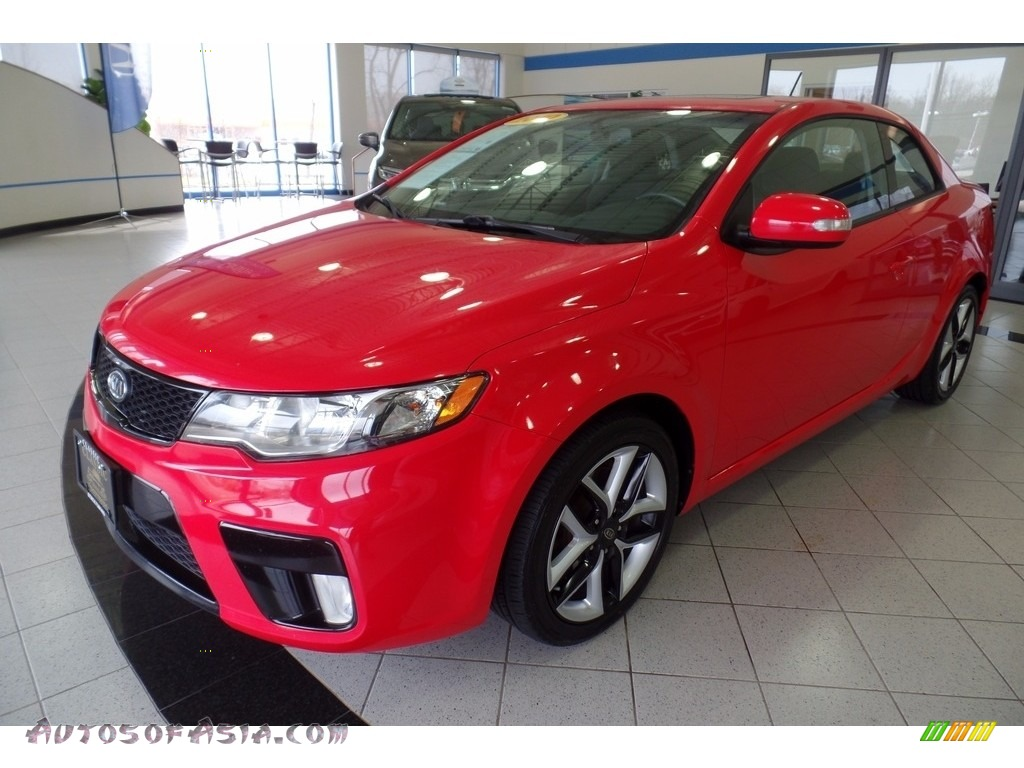 2010 Forte Koup SX - Racing Red / Black Sport photo #1