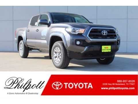 Magnetic Gray Metallic 2017 Toyota Tacoma SR5 Double Cab