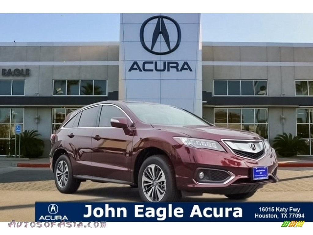 Basque Red Pearl II / Parchment Acura RDX FWD Advance