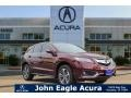 Acura RDX FWD Advance Basque Red Pearl II photo #1